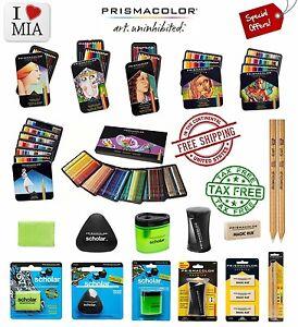 Prismacolor Premier Colored Pencils Soft Core 12 24 36 48 72 132 150 Colors Pack