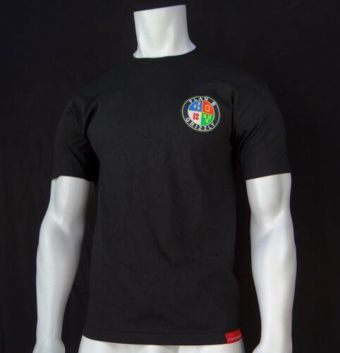NEW RGRZ-1 GRIZZLY GRIPTAPE X PLAN B COLLECTION LOGO MENS SHORT SLEEVE T-SHIRT