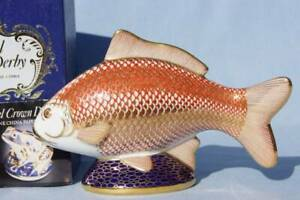 Royal-Crown-Derby-Paper-Weight-Carp