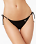 Body-Glove-Womens-Black-Smoothies-Brasilia-Tie-Side-Bikini-Bottom-Sz-M-7208 thumbnail 1