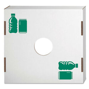 Waste-and-Recycling-Bin-Lid-Bottles-and-Cans-White-Green-Print-10-Carton