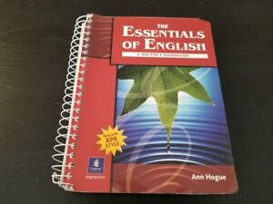 the essentials of english a writer s handbook with apa style