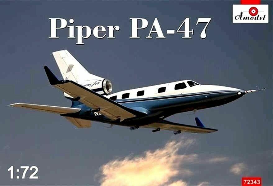 Amodel 72343 Piper PA-47 'Piper Jet' (VLJ) Civil Aircraft, 1 72 scale model kit