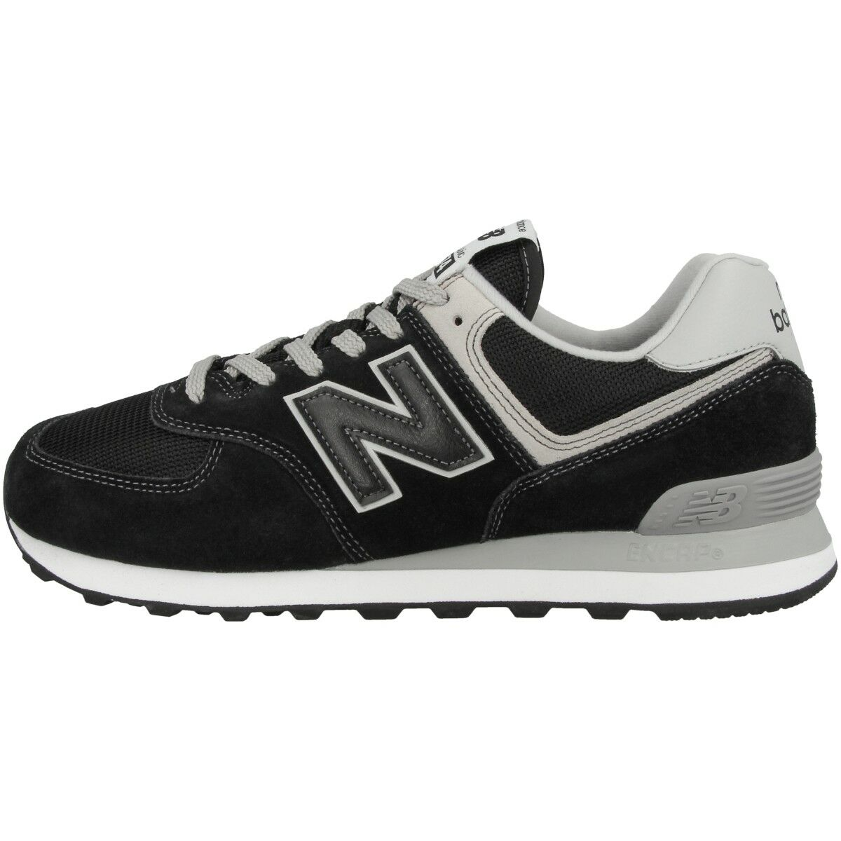 New Balance ML 574 EGK Schuhe Essential Freizeit Sport Sneaker black ML574EGK
