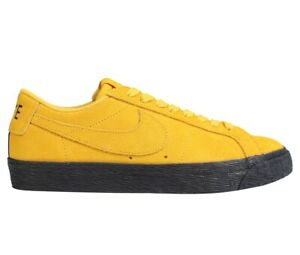 Details about Nike SB Zoom Blazer Low Mens 864347 701 Yellow Ochre Skateboard Shoes Size 9.5