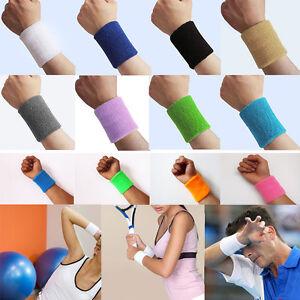 2pcs-Unisex-Cotton-Sweatband-Sports-Wrist-Band-Tennis-Gym-Yoga-Sweat-Wristband