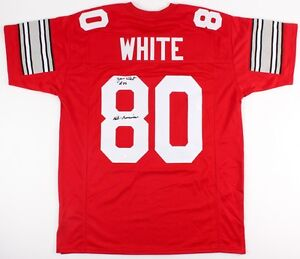 230642aa0 Jan White Signed Ohio State Buckeyes Jersey Inscribed