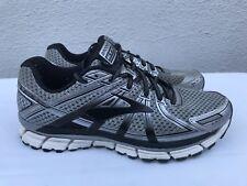 2b79cb09ec2 Brooks Adrenaline GTS 17 Silver Black Anthracite Men 9.5D Running Shoes  1102411