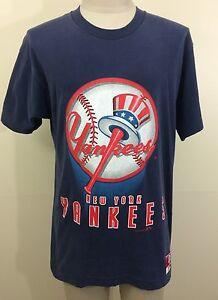A imagem está carregando Vintage-Anos-90-Nutmeg-Mills-New-York-Yankees- 0c8c6d5088c