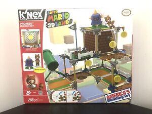 K'NEX Pronto Building Set Super Mario 3D Land Nintendo Toys W/ Original Box