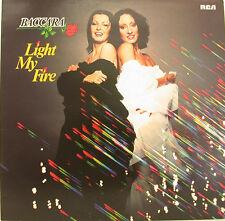 """BACCARA - LIGHT MY FIRE 12"""" LP (h672)"""