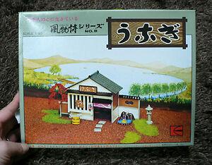 JAPANESE Unagi ( kabayaki-don (una-don) shop ) 1/60 MODEL KIT KAWAI JAPAN