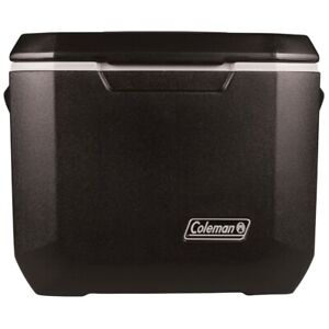 Coleman Cooler Wheeled Ice Chest 50 Qt Outdoor Camping Picnic Food Drink Chiller