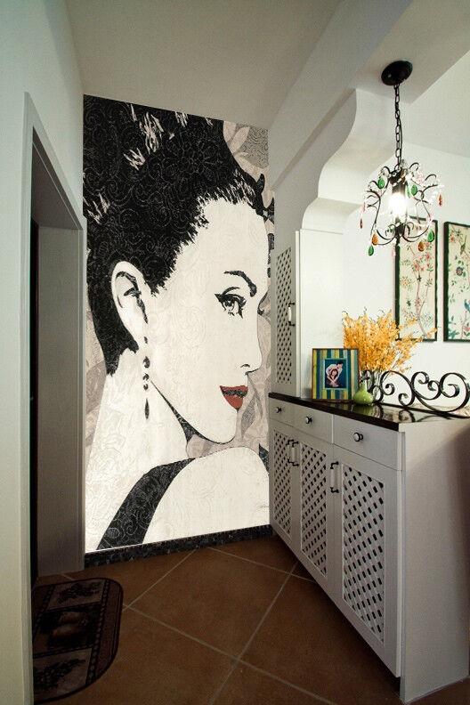 3D Beautiful Girl 612 Wall Paper Wall Print Decal Wall Deco Indoor Mural Lemon