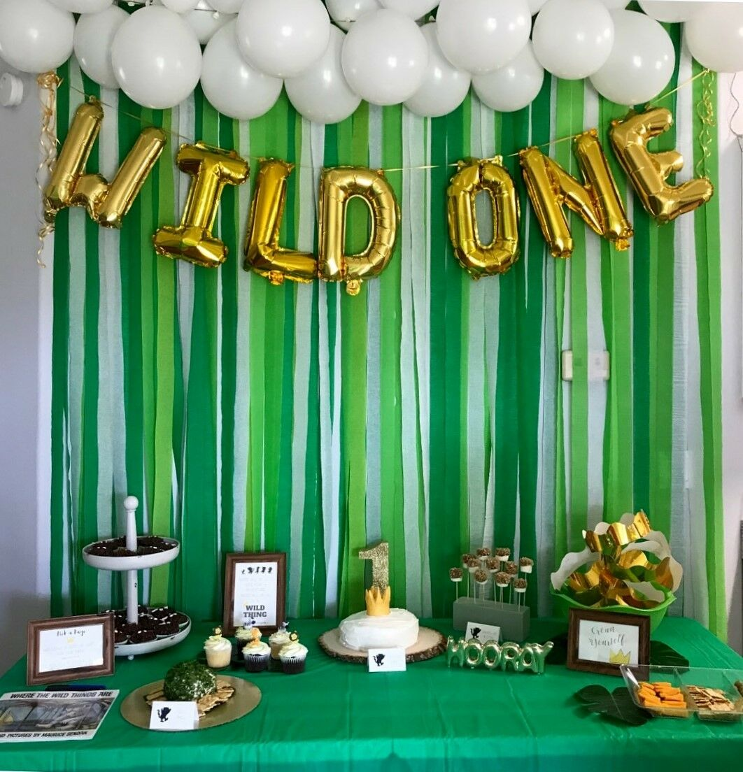Wild One Party Supplies   Where the Wild Things Are   Wild One Décorations   Anniversaire