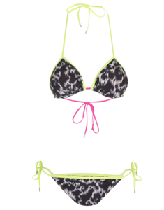 Matthew Williamson Leopard Triangle Bikini, NWT, 2, orig  265