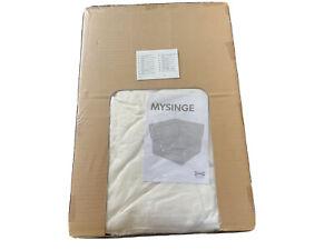 Ikea-Canape-Sofa-MYSINGE-COVER-HOUSSE-Corner-element-Only-White-NEW-UNOPENED