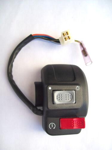 Commutatore Interruttore Comando Dispositivo luci-start Malaguti F10 F12 DX
