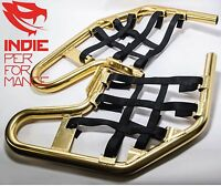 Anodized Gold Nerf Bars Honda Trx400ex 1999-2007 Free Shipping Trx 400 Ex Trx400