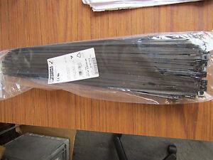 Free Postage 400 x Black Nylon Cable Ties 3.6mmX 150mm 4 x150mm