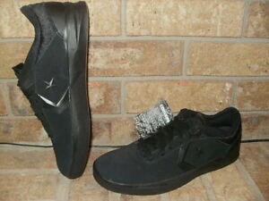 New Converse CONS Metric CLS All Black Leather Skateboarding Shoe 10 ... 24d439a24