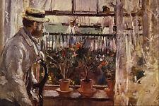 523076 Eugene Manet A LIle De Wight Berthe Morisot A4 Photo Print