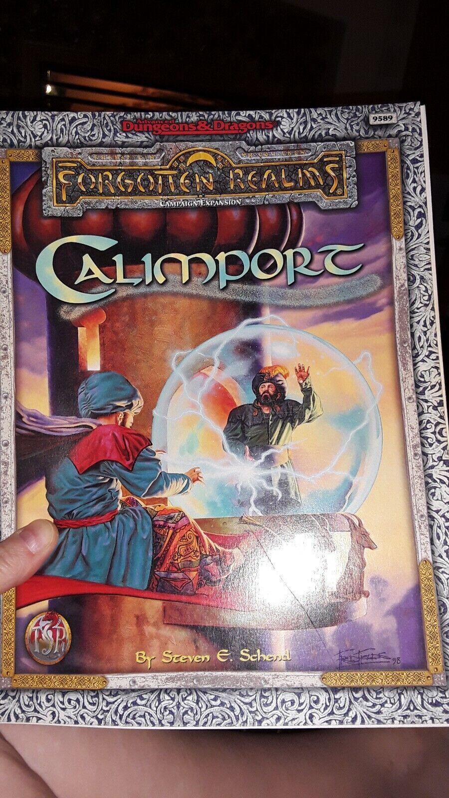 CALIMPORT FORGOTTEN REALMS DUNGEONS & DRAGONS AD&D TSR 9589 - 1 HIGH GRADE