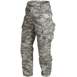 Helikon Us Acu Ripstop Combat Army Mens Trousers Cargo Pants Digital Camo Xs Xxl Ebay