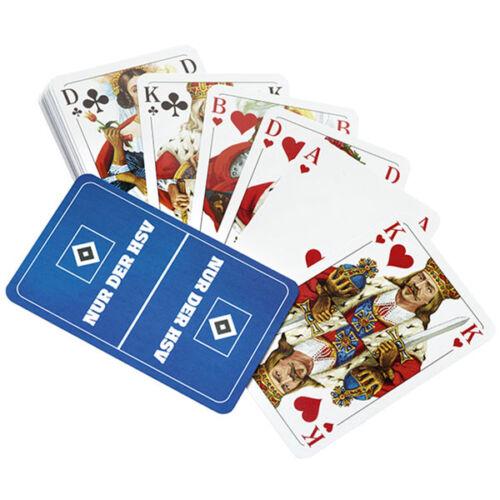 sport hsv kartenspiel hamburger sv skatspiel spielkarten hsv logo 32 blatt nur der hsv confidencialhn