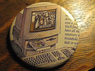 MacIntosh Performa Apple Computer 1994 Old Advertisement Pocket Lipstick Mirror