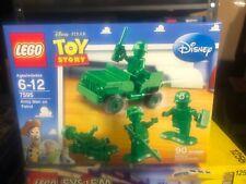 New Lego Disney Toy Story #7595 ARMY MEN ON PATROL 4568144 Jeep /& 4 Minifigs