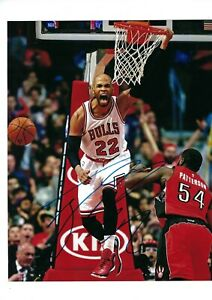 TAJ-GIBSON-AUTO-AUTOGRAPHED-8X10-PHOTO-SIGNED-PICTURE-W-COA-CHICAGO-BULLS-5
