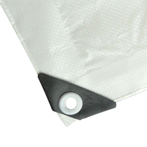 Lona cobertora lona tejidos plane ojales 3x6m 200g//m² blanco