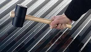 Ehrgeizig Polycarbonat Trapezplatte 76/18 Glasklar Fürs Dach Trapezbleche & Wellplatten