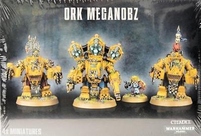Warhammer  Ork Meganobz GW-50-08