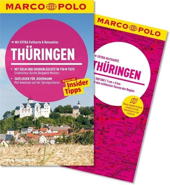!! Thüringen 2013 mit Karte UNGELESEN Reiseführer Marco Polo Erfurt Saale Werra