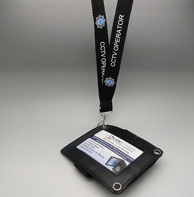 SIA CCTV Operator Neck Lanyard