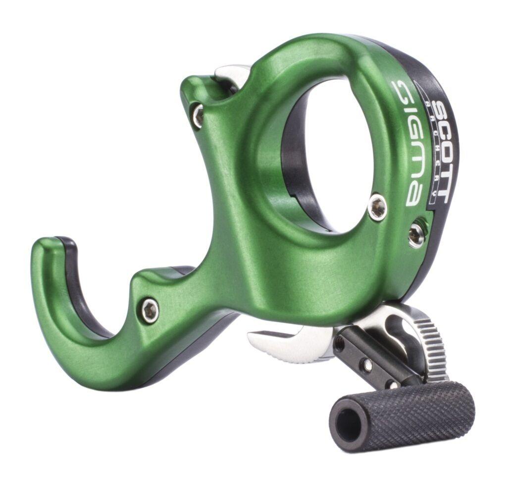 Nueva versión de Scott Sigma 3 Dedo Pulgar verde Negro 8007-GN-3