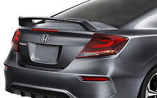 PAINTED REAR WING SPOILER FOR A HONDA CIVIC 2-DOOR SI 2012-2016 FACTORY STYLE