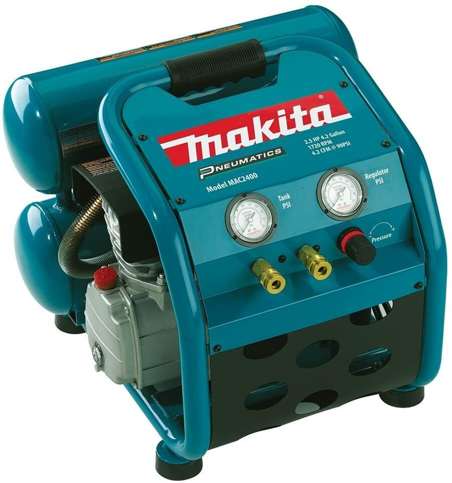 Makita MAC2400 120V Air Compressor - Teal. Buy it now for 339.00