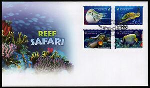 2018-Reef-Safari-Self-Adhesive-FDC-Stamps-Australia-Post