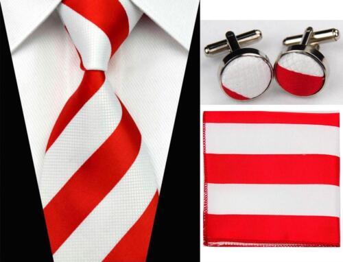 Formal Necktie Set For Men Classic Designed High Quality Business Suit Accessory