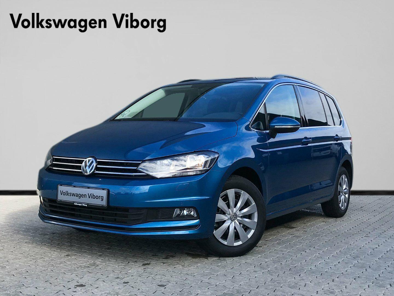 VW Touran 1,6 TDi 115 Comfortl. Connect DSG 5d - 309.900 kr.