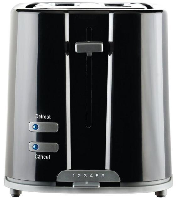 Prestige PRE-55844 1200W High Lift Facility Eco Plastic 2 Slice Toaster - Black