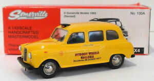 Somerville-Models-1-43-Scale-100A-Austin-FX4-Taxi-Yellow-1-Of-100