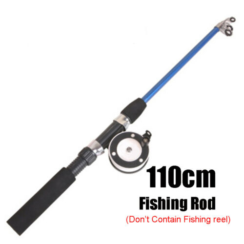 Retractable Winter Fishing Rods Ice Fishing Reels To Choose Rod Combo Pen Pole