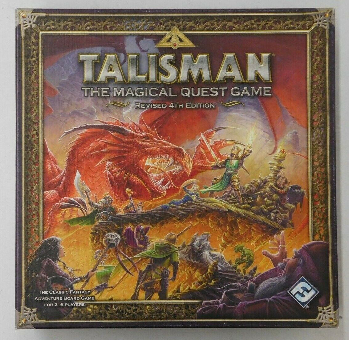 TALIShomme  THE MIGHTY QUEST REVISED 4TH ED - Fantasy Flumière Games 2007 Board Game  2018 dernier