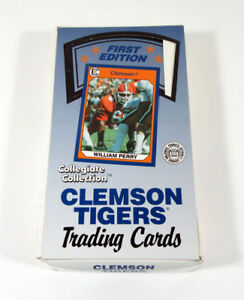 1990-Collegiate-Collection-Clemson-Tigers-First-Edition-Wax-Box