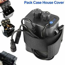 8.4V 4x 18650 Waterproof Battery Pack Case Box House Cover For Bicycle Bike .AU