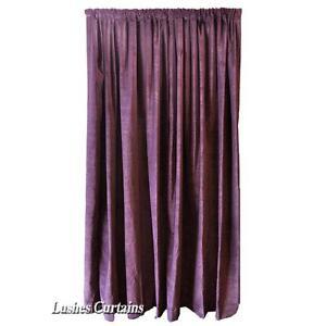 Violet-213cm-h-panneau-rideau-en-velours-bruit-son-AMORTISSEMENT-de-coton